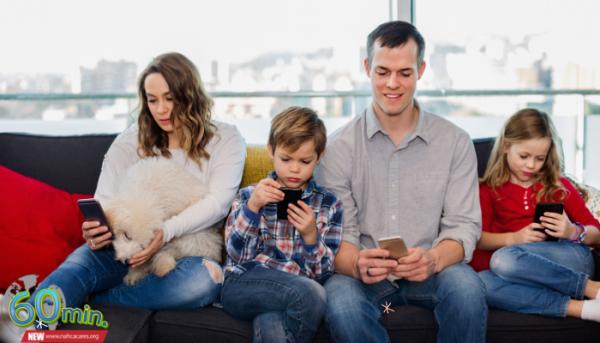 ทำงานที่บ้าน ความสุขที่บ้าน ด้วยสมาร์ทโฟน หรือ Work from Home ตามนโยบายของรัฐบาล เพื่อหยุดการระบาดของไวรัสโควิด-19 โหมดผ่อนคลาย 60min