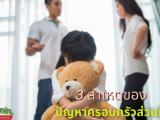 3 สาเหตุของปัญหาครอบครัวส่วนใหญ่ ครอบครัว หมายถึง เป็นสถาบันอย่างหนึ่งเลย ที่ประกอบไปด้วยสมาชิกอย่างน้อยๆ2คนที่มาอยู่ด้วยกันใช้ชีวิตร่วมกัน