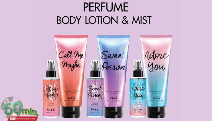 Malissa Kiss Whitening Perfume Body Lotion Wanderlust